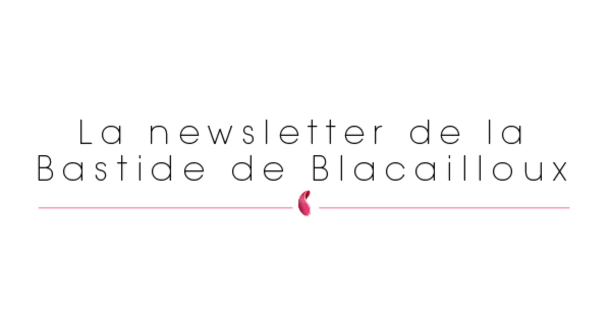 Newsletter du mois de Septembre